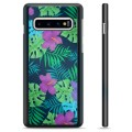 Samsung Galaxy S10+ Protective Cover - Tropical Flower