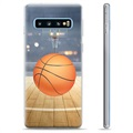 Samsung Galaxy S10+ TPU Case - Basketball