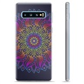 Samsung Galaxy S10+ TPU Case - Colorful Mandala