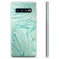 Samsung Galaxy S10+ TPU Case - Green Mint