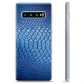 Samsung Galaxy S10+ TPU Case - Leather