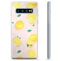 Samsung Galaxy S10+ TPU Case - Lemon Pattern