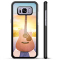 Samsung Galaxy S8+ Protective Cover - Guitar