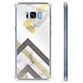 Samsung Galaxy S8 Hybrid Case - Abstract Marble
