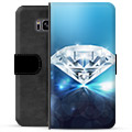 Samsung Galaxy S8+ Premium Wallet Case - Diamond