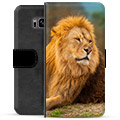 Samsung Galaxy S8+ Premium Wallet Case - Lion
