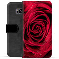 Samsung Galaxy S8+ Premium Wallet Case - Rose