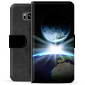 Samsung Galaxy S8 Premium Wallet Case - Space