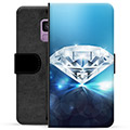 Samsung Galaxy S9 Premium Wallet Case - Diamond