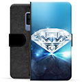 Samsung Galaxy S9+ Premium Wallet Case - Diamond