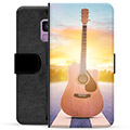 Samsung Galaxy S9 Premium Wallet Case - Guitar
