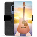 Samsung Galaxy S9+ Premium Wallet Case - Guitar