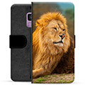 Samsung Galaxy S9 Premium Wallet Case - Lion