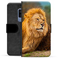 Samsung Galaxy S9+ Premium Wallet Case - Lion