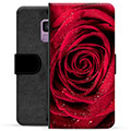 Samsung Galaxy S9 Premium Wallet Case - Rose
