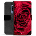 Samsung Galaxy S9+ Premium Wallet Case - Rose