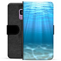 Samsung Galaxy S9 Premium Wallet Case - Sea