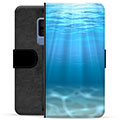 Samsung Galaxy S9+ Premium Wallet Case - Sea