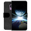 Samsung Galaxy S9 Premium Wallet Case - Space