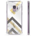 Samsung Galaxy S9 Hybrid Case - Abstract Marble