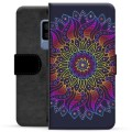 Samsung Galaxy S9+ Premium Wallet Case - Colorful Mandala