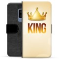 Samsung Galaxy S9+ Premium Wallet Case - King