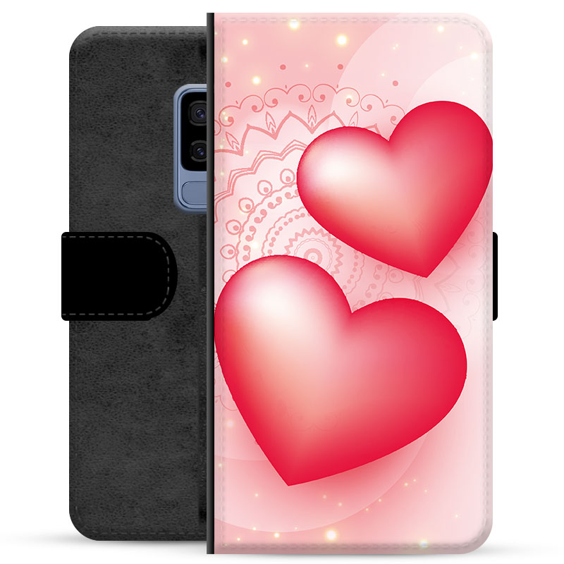 Samsung Galaxy S9+ Premium Wallet Case - Love
