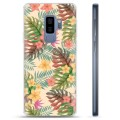 Samsung Galaxy S9+ TPU Case - Pink Flowers