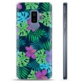 Samsung Galaxy S9+ TPU Case - Tropical Flower