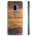 Samsung Galaxy S9+ TPU Case - Wood