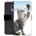 Samsung Galaxy S9 Premium Wallet Case - Cat