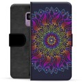 Samsung Galaxy S9 Premium Wallet Case - Colorful Mandala