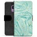 Samsung Galaxy S9 Premium Wallet Case - Green Mint