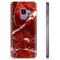 Samsung Galaxy S9 TPU Case - Red Marble