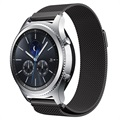 Samsung Gear S3 Luxury Milanese Magnetic Wristband - Black