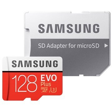 Samsung Evo Plus MicroSDXC Memory Card MB-MC128GA/EU - 128GB