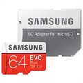 Samsung Evo Plus MicroSDXC Memory Card MB-MC64GA/EU - 64GB
