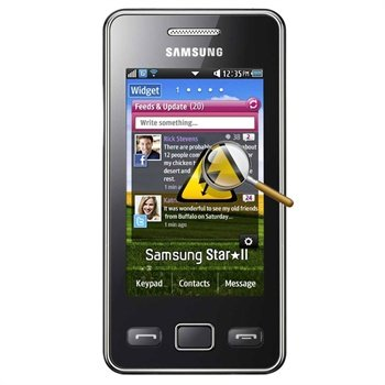 samsung c6712 star ii duos diagnosis rh mytrendyphone co uk Samsung Duos Back Cover Samsung Duos Camera
