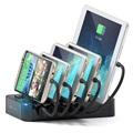 Satechi 5-Port USB Charging Station - Black