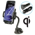 Scosche StuckUp Qi Wireless Car Charger / Car Holder - 5W