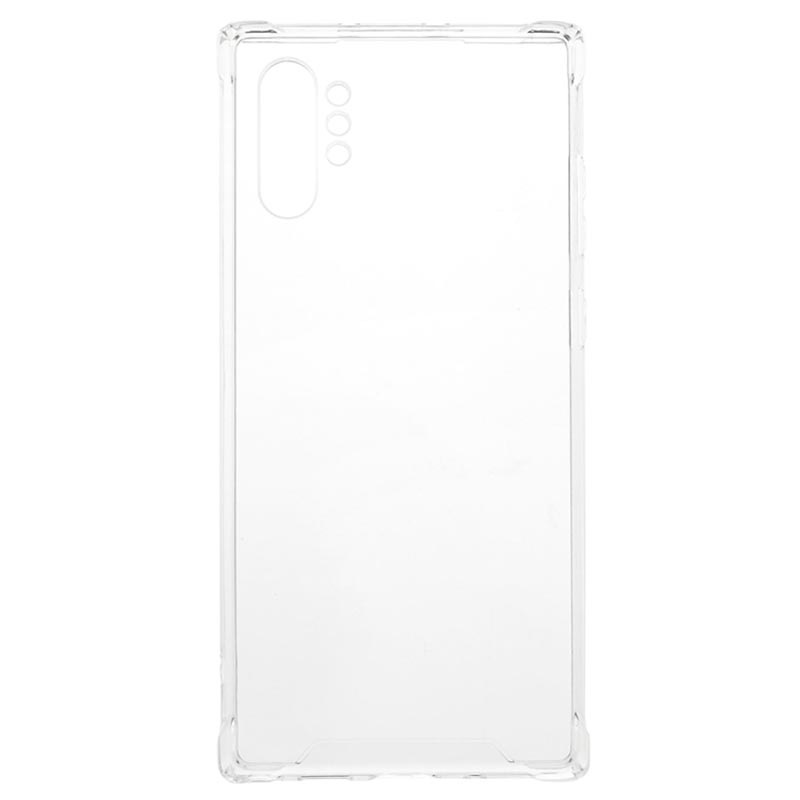Scratch-Resistant Samsung Galaxy Note10+ Hybrid Case - Transparent