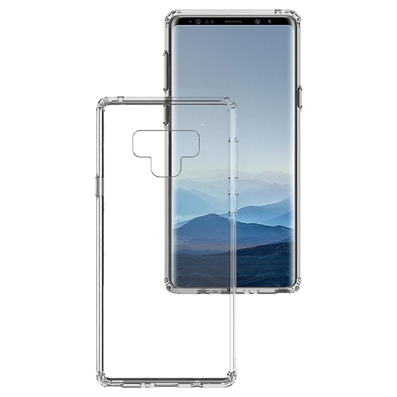 Scratch-Resistant Samsung Galaxy Note9 Hybrid Case - Transparent