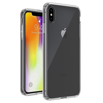 best sneakers 460a9 cae45 Scratch-Resistant iPhone XS Max Hybrid Case - Transparent