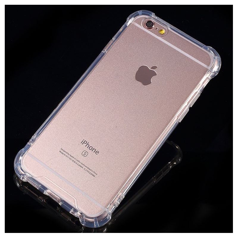 Scratch-Resistant iPhone 6/6S Hybrid Case - Transparent