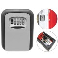 Security Key Box with Code MH902 - Wall Mount - Grey