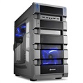 Sharkoon BD28 Mid Tower ATX PC Case - Gunmetal Edition