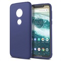 Shock Block Motorola Moto G7 Play TPU Case - Blue