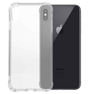 Shockproof iPhone XS Max TPU Case - Transparent