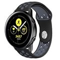Samsung Galaxy Watch Active Silicone Band - Black / Grey