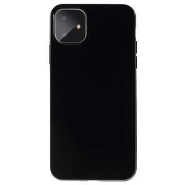 iPhone 11 Silicone Case - Flexible and Matte - Black